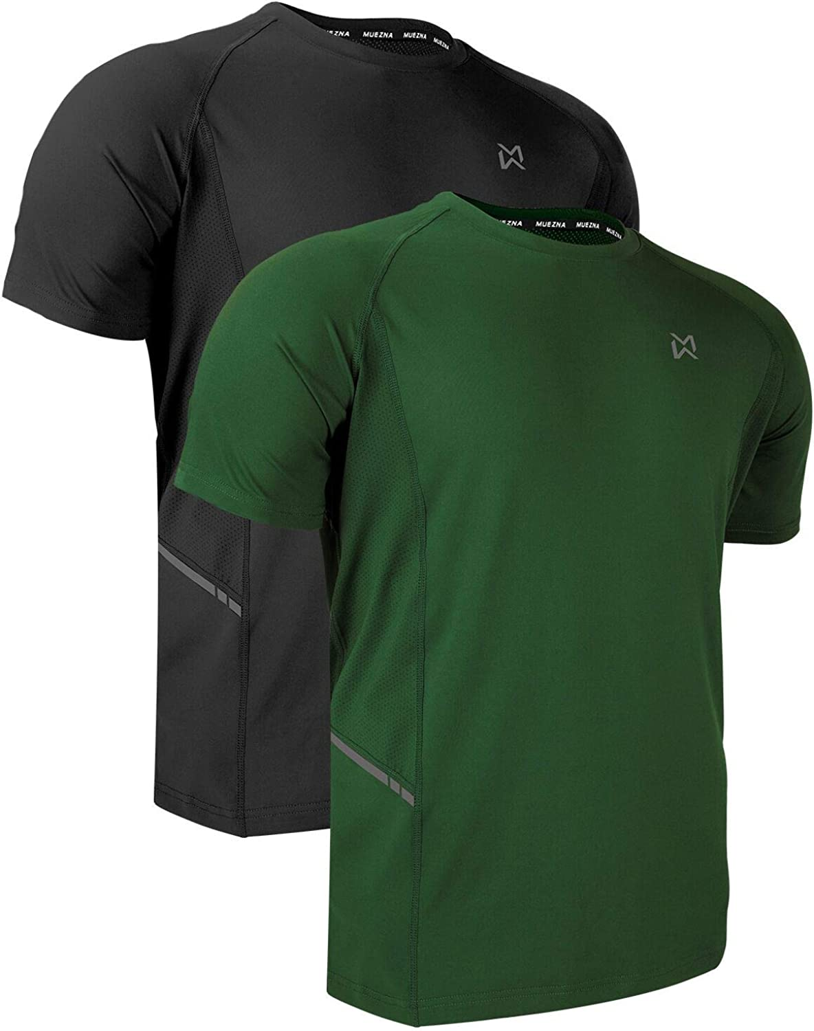 Mens Quick Dry Sport Gym Running Workout Short Sleeve Slim  Fit T-Shirt Tops Tee