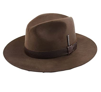 51a91a9bb8e0f Bailey of Hollywood Bankhead Wool Felt Fedora Hat Size M  Amazon.ca   Clothing   Accessories