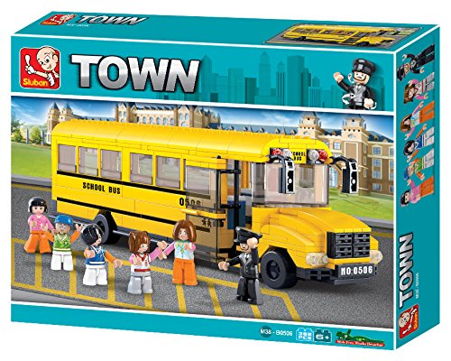 Sluban Town - Big School Bus - 1