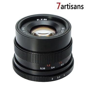 Amazon.com : 7Artisans FE 35mm f/2 F2.0-F16 Standard-Prime Fixed ...