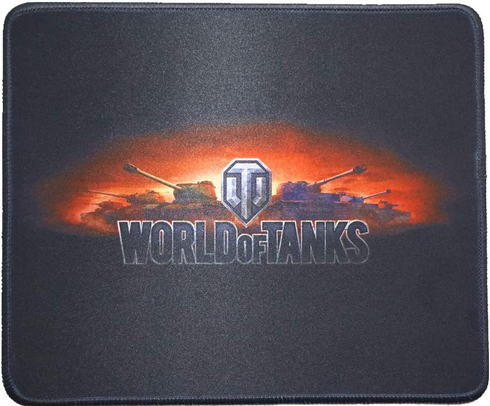 12x10 Inch World of Tank WOT Gaming Collection Office Mouse Pad Non Slip Rubber Mouse mat