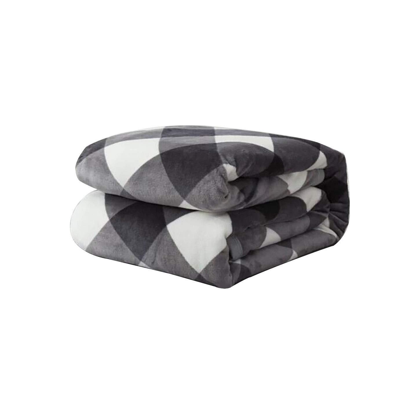 ソファ毛布のための投げ投げ、人工フリースを着用することができます多機能毛布小さな毛布ナップ毛布厚い毛布(色:A、サイズ:150&回; 200センチメートル) B07QNHZNJK