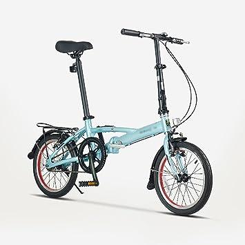Bicicleta plegable ligera aluminio