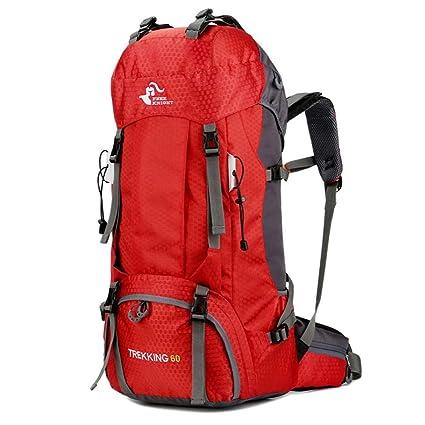Damen Herren Rucksack Camping Wanderrucksack Reiserucksack Backpack Trekking 60L