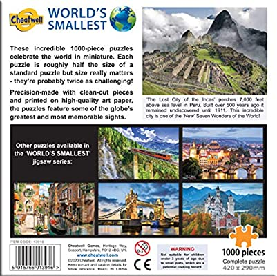 1000 Pieces Jigsaw Puzzle Ancient Inca Machu Picchu Puzzle for Kids and Adult