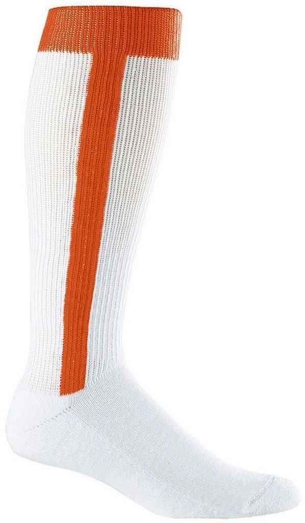 野球スターラップソックス( 7 – 9 ) B00T8A2R3G Small|オレンジ オレンジ Small