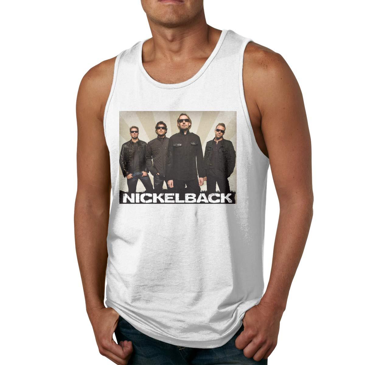 Sleeveless Tee Nickelback Sport Gym Tank Top Shirts