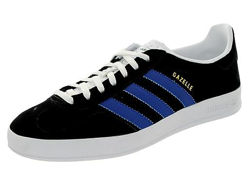 Adidas Gazelle Indoor Black Blue Mens Trainers - M17787: Amazon.co.uk: Shoes  & Bags