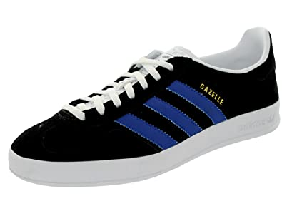 Adidas Men's Gazelle Indoor Originals Black/Croyal/Ftwwht Casual Shoe 9 Men  US
