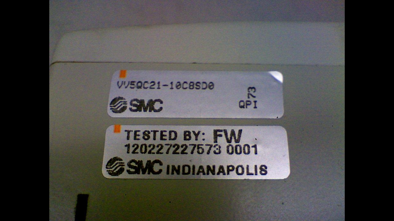 Smc Vv5qc21-10C8sd0 Manifold Assembly Vv5qc21-10C8sd0