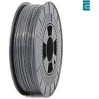ICE FILAMENTS ICEFIL1PLA015 PLA Filament, 1.75 mm, 0.75 kg, Gris clair