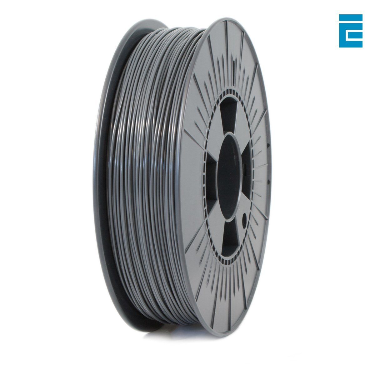 Ice Filaments ICEFIL1PLA015 Filamento PLA 1.75mm, 0.75kg, Grigio Dutch Filaments