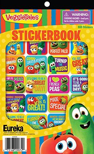 Eureka Veggietales Sticker Books (609696)