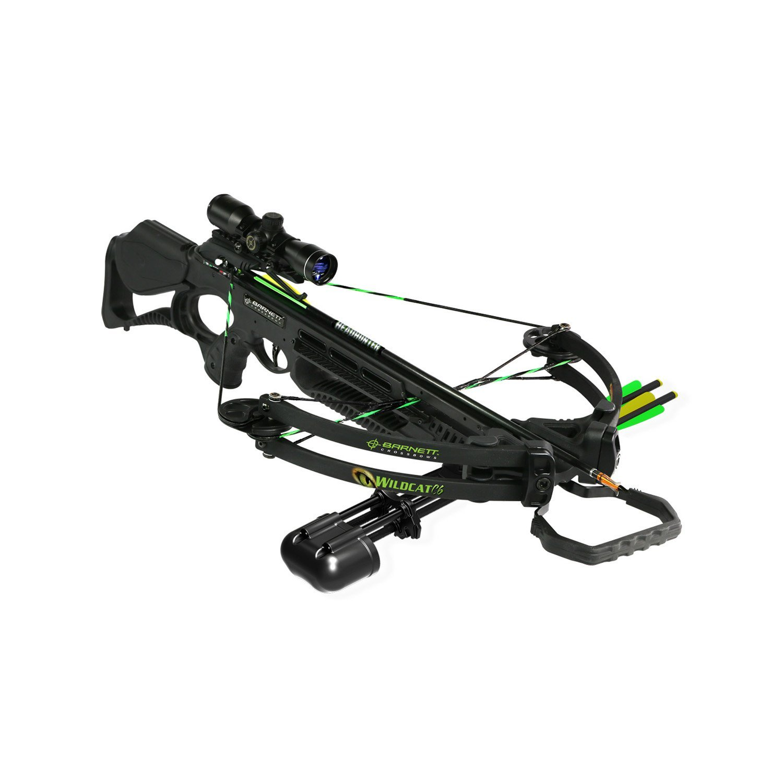 Amazon com barnett 4 x 32 scope wildcat c6 crossbow black regular sports outdoors