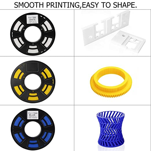 3d printer filamento PLA/ABS 3d impresora filamento rollo de 1.75 ...