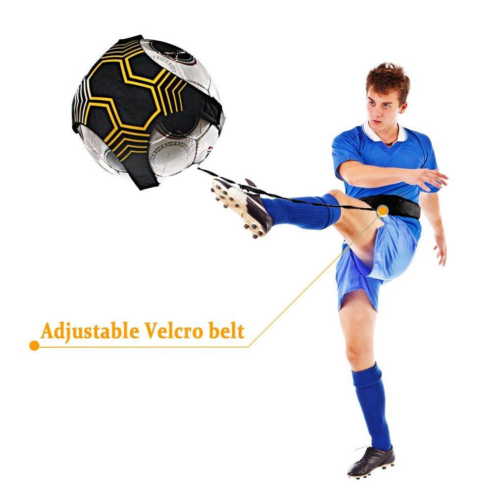 Mture Football Trainer Banda elástica para entrenamiento de fútbol Soccer  Skill Trainer Kit for Kids 520ZQFZD01 09f6bc1f58e32