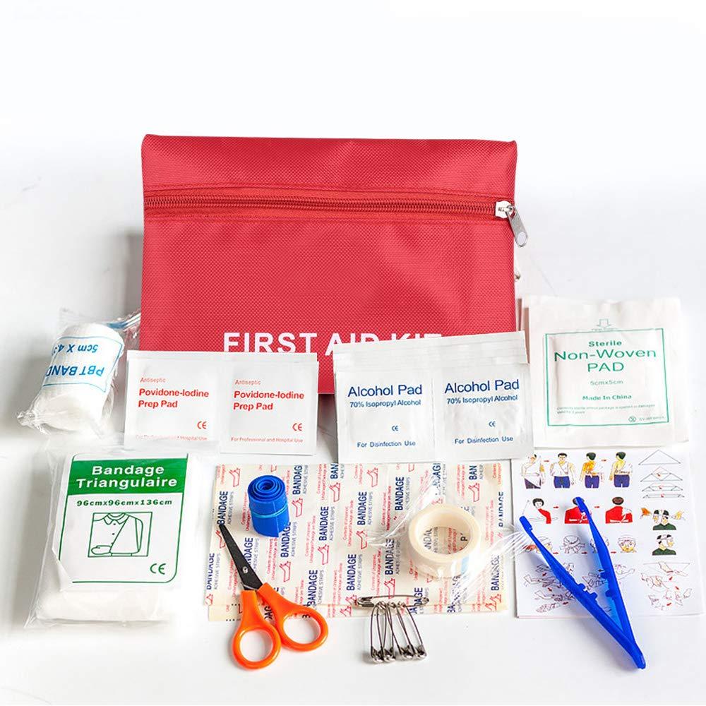 Rosepoem First Aid Kit - Medizinische Außentasche, Familien-Medizintasche