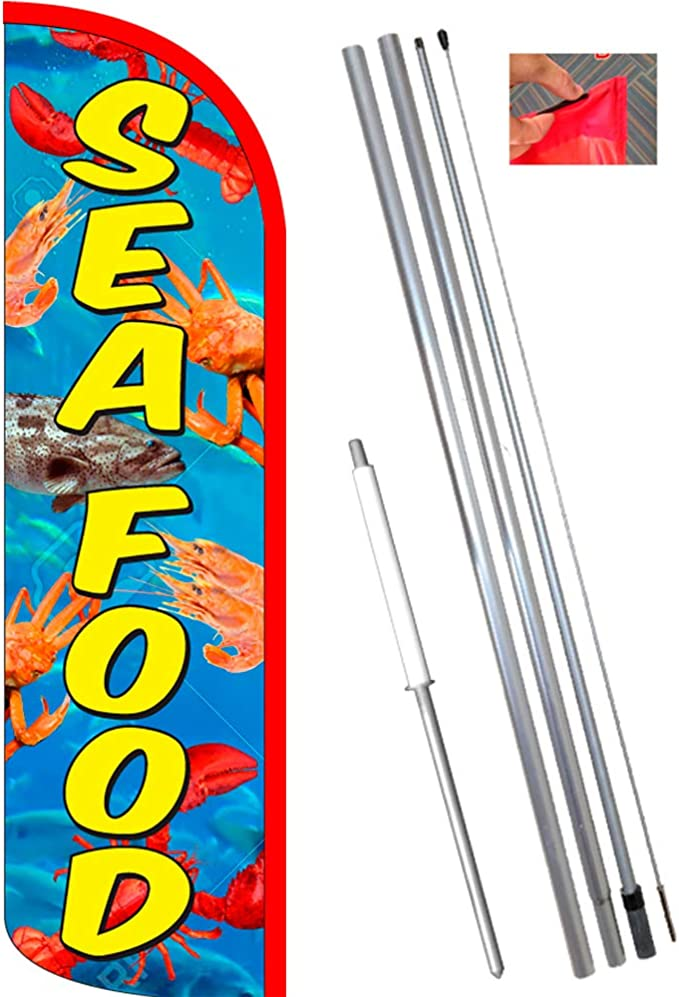 Marisco King Swooper Feather Flag Sign Pack of 20 hardware not included
