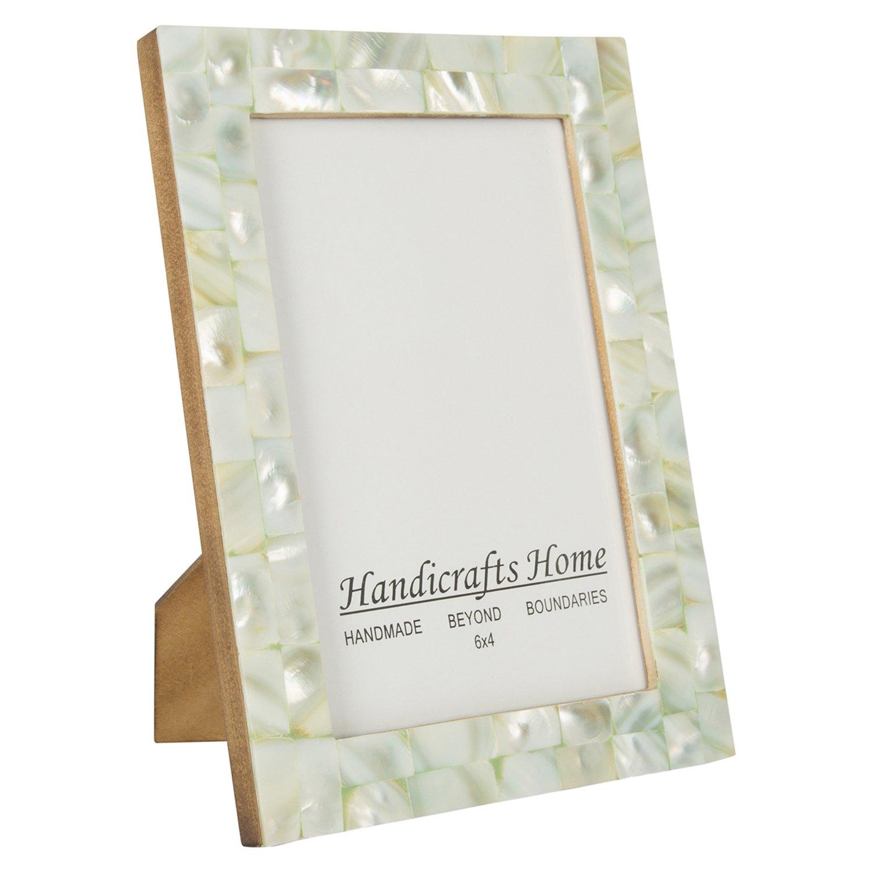 Amazon.de: Handicrafts Home 4x6 Bilderrahmen Schick Fotorahmen ...