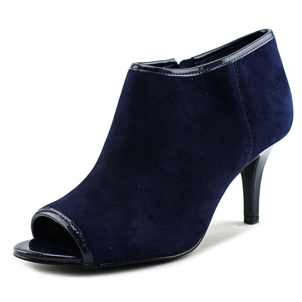 Bandolino Women's Maiba Ankle Bootie B01FNSAHB0 5 B(M) US|Navy Suede