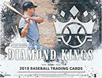 2018 Diamond Kings Baseball Hobby Box (12 Packs/8 Cards: 2 Autograph or Memorabilia, 3 Framed Parallels, 2 SPs, 2 Variations, 11 Inserts)