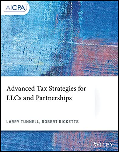 Advanced Tax Strategies For LLCs And Partnerships AICPA