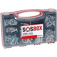 fischer SOS-box met spreidpluggen S en universele pluggen FU - voor talrijke bouwmaterialen en diverse toepassingen…