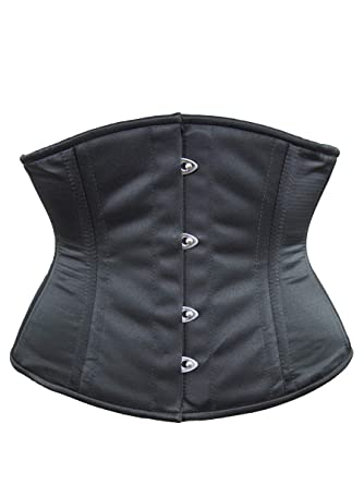 7c09d0165f6 Amazon.com  Orchard Corset CS-411 Satin Corset  Clothing