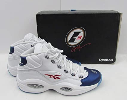 91baa017aba8 Allen Iverson 76ers Signed Reebook Question NEW NWT w Box Shoes JSA ...
