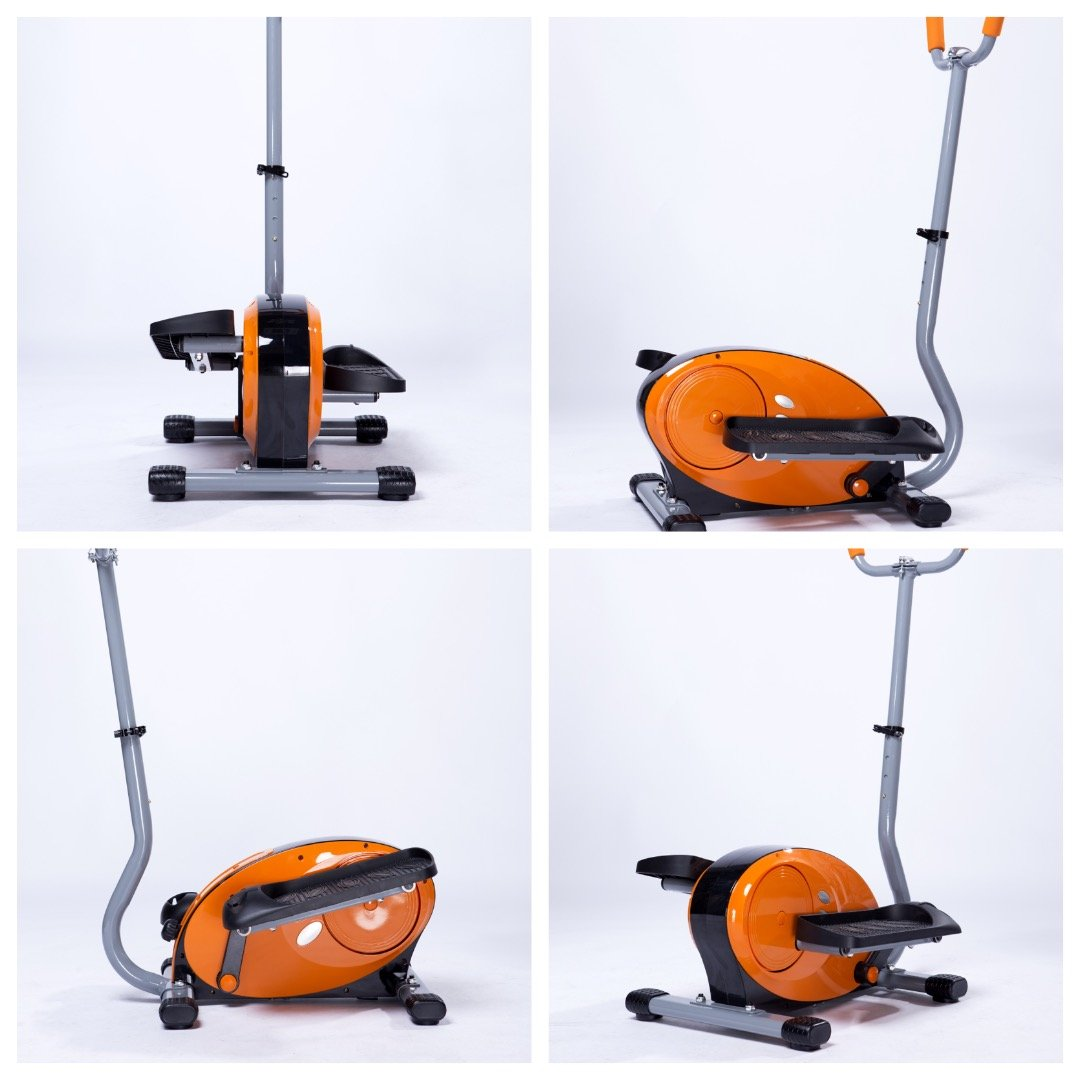 Amazon.com : Synteam Home Elliptical Trainer With Handles (orange) : Sports & Outdoors