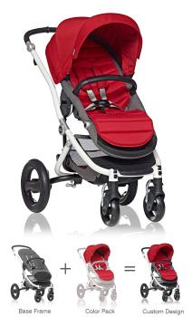 Britax Affinity Stroller Red Pepper Color Pack