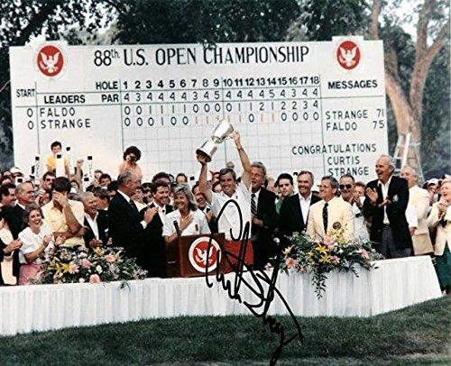 - Curtis Strange Autographed Photo - 8x10 - PSA/DNA Certified - Autographed Golf Photos