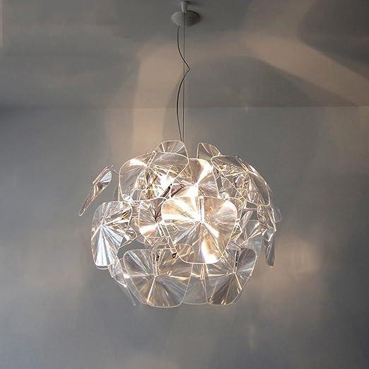 Gyd Lampadario Creativa Personalita Salotto Moderno Lampadario Semplice Rotonda Lampadari Camera Da Letto Caldo Dimensioni M Amazon It Illuminazione