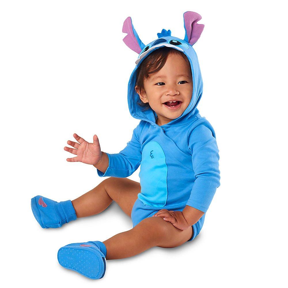 2f600716c Stitch Knit Romper for Baby Disney Store Baby will enjoy happy