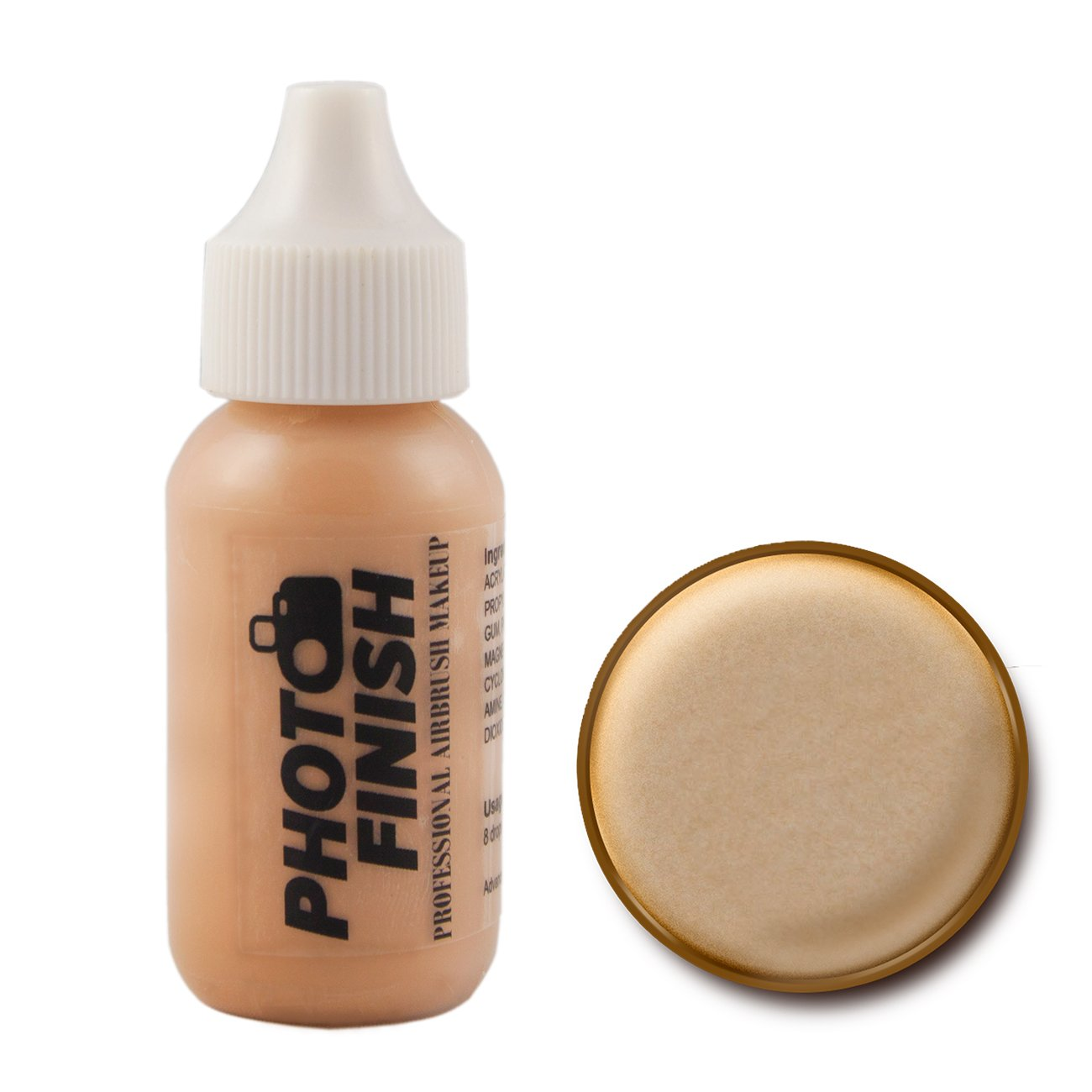 Photo Finish Airbrush Makeup - Foundation-1.0 Oz Cosmetic Face- Choose Color (Fairly Light Matte)
