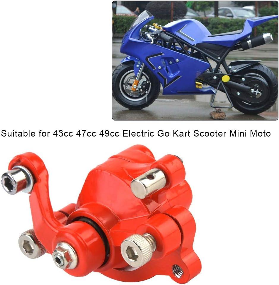 Qii Lu Bremsscheiben 120mm Disc Rotor Bremssattel Für 43 47 49cc Elektro Go Kart Roller Mini Moto Auto