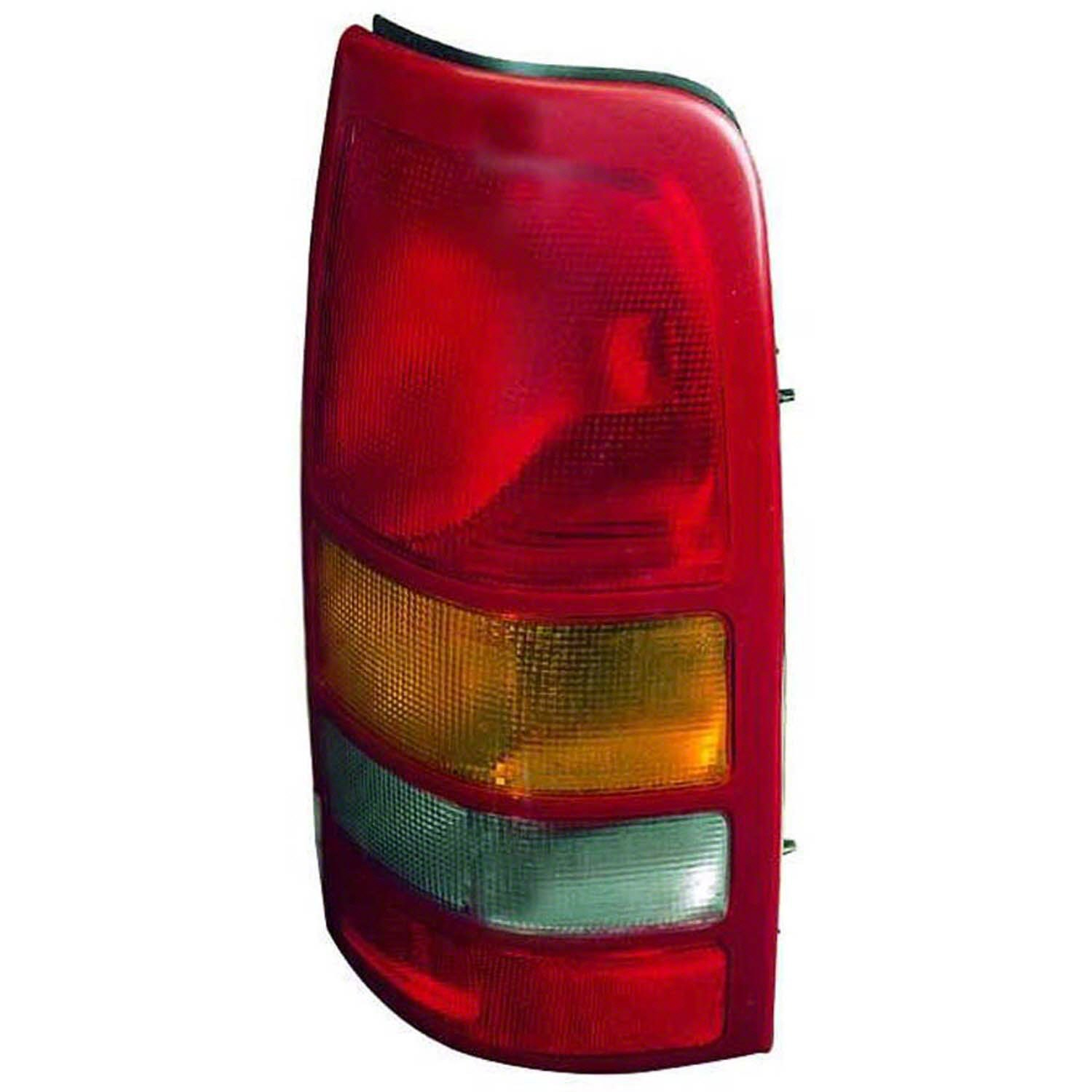 OE Replacement Tail Light CHEVROLET PICKUP CHEVY SILVERADO 1999-2002 Multiple Manufacturers GM2801186C Partslink GM2801186