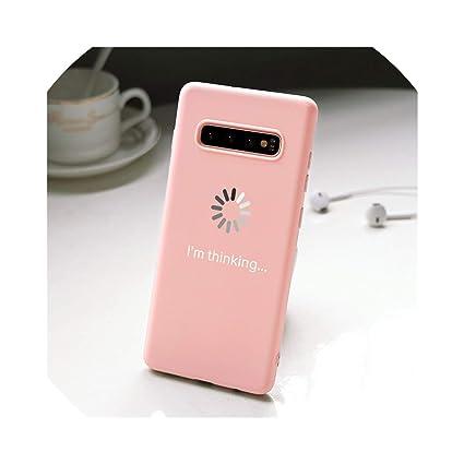 Amazon.com: Carcasa de TPU para Samsung Galaxy S8 S9 S10 ...