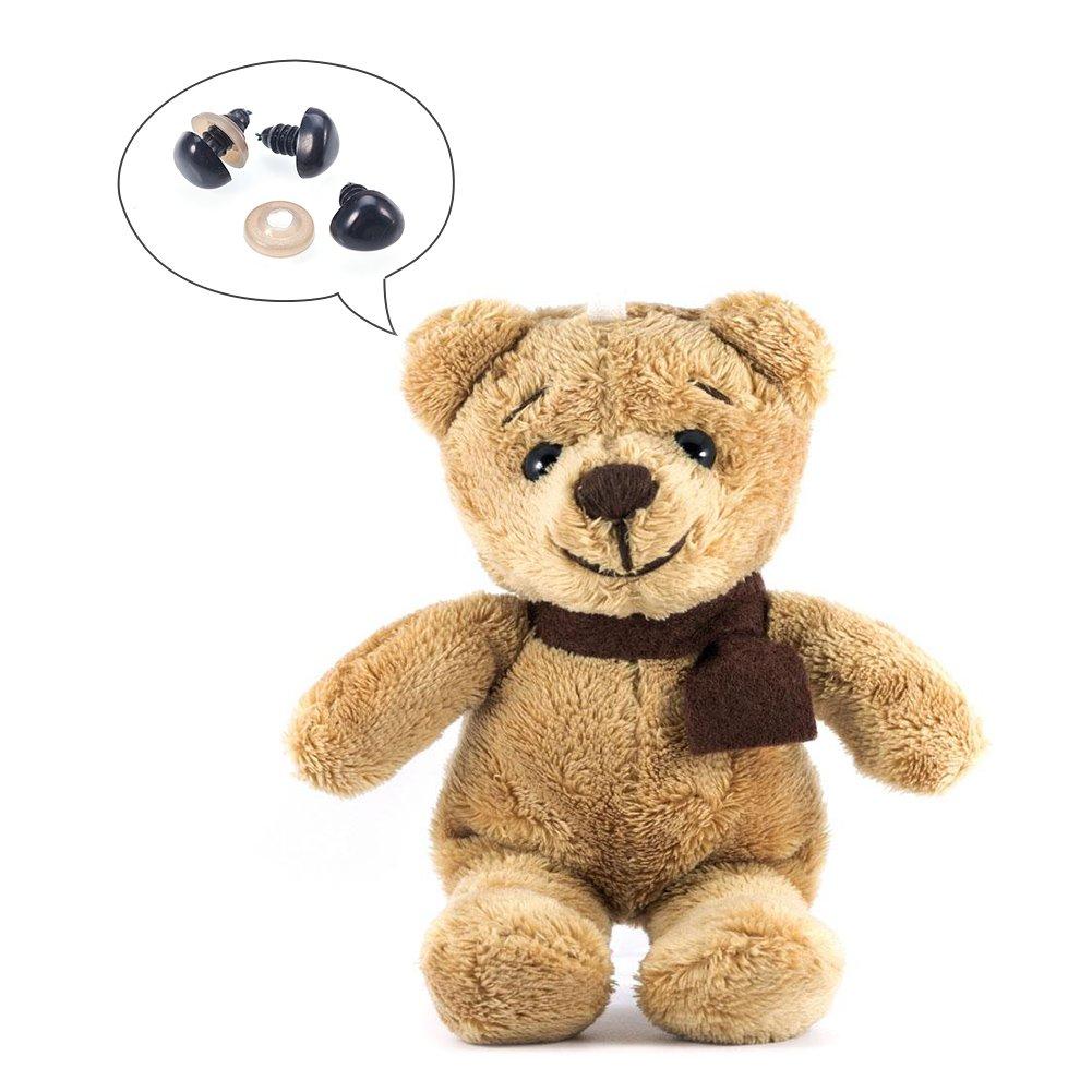 Colore Misto e Dimensione Occhi di Bambola di Peluche per Doll Teddy Puppet Fare 195 Coppie. PandaHall Elite 390pcs Occhi per Fare Bambola Artigianale