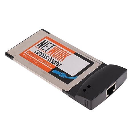 Homyl Tarjeta de LAN PCMCIA RJ-45 RJ45 Adaptador Accesorio ...