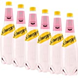 Schweppes Russchian Aromatic Citrus Tonic Water Fizzy Drink Mixer 6X 1 Litre