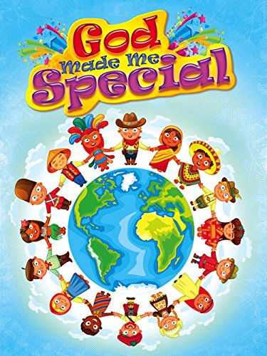 Religious Poster (Tri-Seven Entertainment Children's Poster God Made Me Special Kids Series 4)