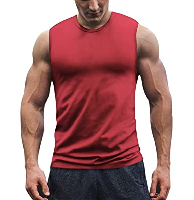 Vests Sport Wear Jogging Running Vest Men Tanktop Fitness Sleeveless Shirt Cotton Undershirt Mens Sweatshirt Joggers Gym Male Tee Top