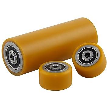 Poliuretano unidad ruedas de 50 mm de diámetro adecuado para ...