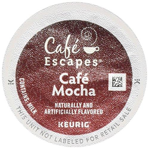 Cafe Escapes Cafe Mocha 12 Count Keurig - Cafe Express