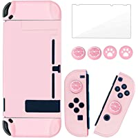 Protective Case Compatible for Switch Lite 2019, DELFINO Liquid Crystal Glitter Bling Soft TPU Cover with Shock…