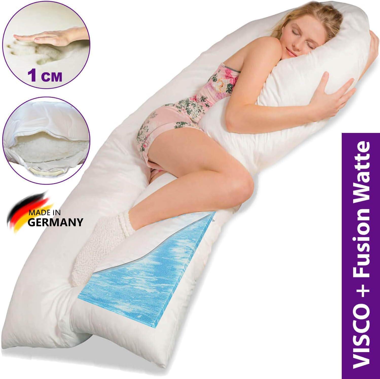 Jumbo XXL U shaped Pregnancy Pillow