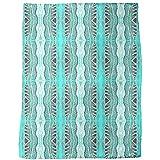 Massai Turqoise Blanket: Large