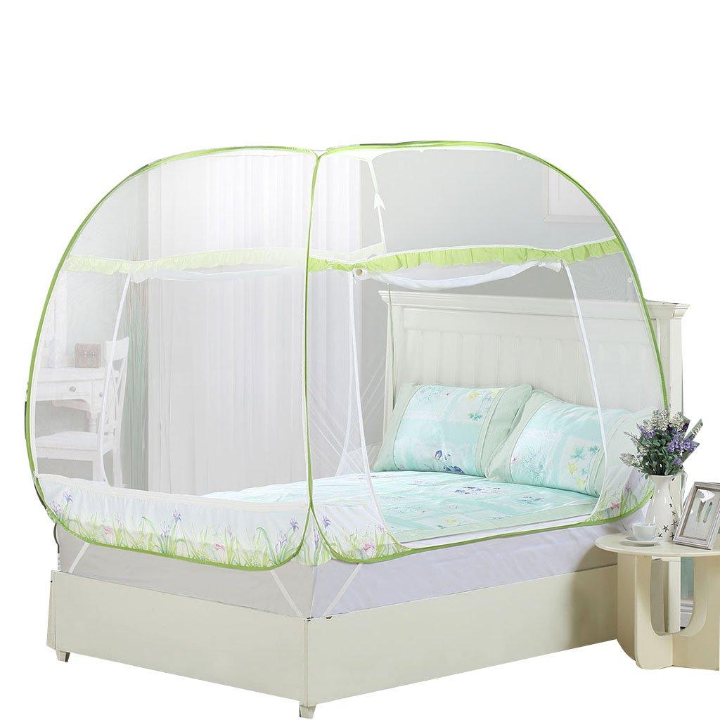 Moskitonetze Yurt einfach zu installieren 4ft/5ft/6ft Bett Platz Top Schlafzimmer Zubehör für zu Hause