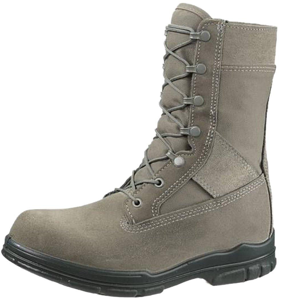 Bates Women's 8 Inches Durashocks Steel Toe Boot,Sage,8 W US